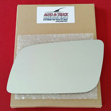 NEW Mirror Glass + ADHESIVE 99-05 CHEVY ASTRO GMC SAFARI VAN Driver Left Side