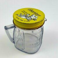 Osterizer Mini Blend Plastic Cup w/ Metal Lid Vintage 8oz Jar Container
