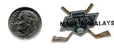 NHL Los Angeles Kings Crossed Hockey Sticks Pin Sealed NIP OOP Old Logo