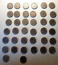 serie 10 centimes Marianne presque complète