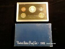 1968 United States Proof Set 40% Silver Kennedy - Original Packaging ~ 5 coins<<