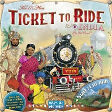 Ticket to Ride Map Collection Volume 4 India & Switzerland