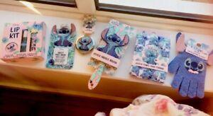 Ladies Women's Girls Primark DISNEY Lilo & Stitch Hair Brush + Mirror Gloves Set