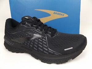 Brooks Adrenaline GTS 21 Women's Running Shoes, Size 10.5 MB, Black, NEW,  20841