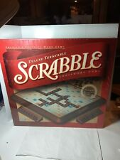 New Factory Sealed Scrabble Deluxe Turntable Edition Parker Bros Board Game 2001