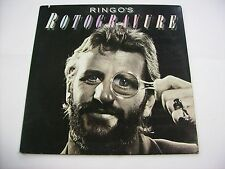 RINGO STARR - RINGO'S ROTOGRAVURE - LP VINYL EXCELLENT CONDITION 1976 - BEATLES