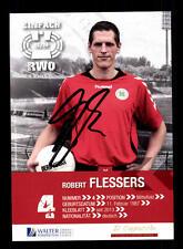 Robert Flessers Autogrammkarte Rot Weiss Oberhausen 2013-14 Original+A 144733