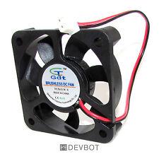 Ventilateur de refroidissement DC 5V 0.14A 50x50x10mm DIY. Arduino, Raspberry Pi