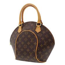 LOUIS VUITTON Ellipse PM Hand Bag Brown Monogram M51127 France Authentic #BB868