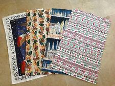 NEW Emma Bridgewater Tea Towel Christmas Joy / Robin Starry Night / Holly Wreath