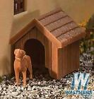 WALTHERS SCENEMASTER HO SCALE DOG AND KENNEL 949-4147