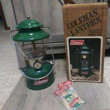 Coleman 200a Lantern And Box Green