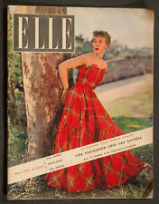 'ELLE' FRENCH VINTAGE MAGAZINE 14 MAY 1951