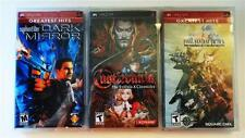 5 Box Protectors for PSP PLAYSTATION PORTABLE Clear Custom Display Cases Boxes