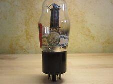 1 valve 6N7 G FIVRE MILANO NOS TEST TV7 60/60 (38= 100%) BLUE LABEL D GETTER