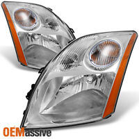 Fits 07-09 Sentra Headlights Lights Lamps Replacement Left + Right 2007-2009