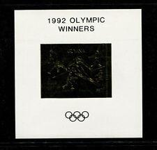 Guyana1992 Olympics/Soccer Michel BL 224-25 OLYMPIC WINNERS OVERPRINT Sheets