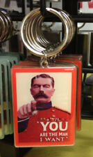 WW1  Keyring Retro 50s 60s Food retro Advert Sales Lord Kitchener 1914-1918 WWI