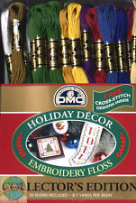 Holiday Colors Collection 30 Skiens DMC Embroidery Cross Stitch Floss 117F25HDAY