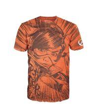Overwatch Video Game Tracer Jumbo Art Image Two-Sided T-Shirt Funko NEW UNWORN