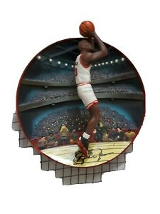 """Michael Jordan: A Legend for All Time """"Rim Rocker"""" plate with CAO"""