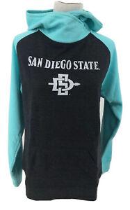 San Diego State Aztecs Hoodie Sweatshirt Womens size L, Large Juniors