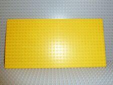 LEGO ® PIASTRA 16 x 32 scanalata in giallo 2748 3857 2146 385 Isola costruzione di base p03
