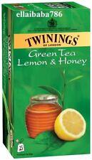 Twinings of London Green Tea  *** Lemon and Honey ***  - 25 Tea Bags