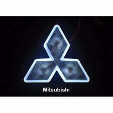 LED Car Tail Logo Auto Badge White light for Mitsubishi Lancer EX Outlander