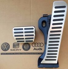 VW GOLF 5 6 ORIGINALE GTI Pedalset Pedali Pedale Tappi Pedale Cover Pads Caps GTD