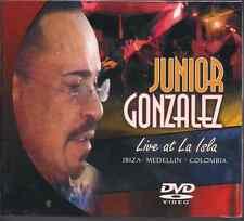salsa vivo DVD Junior Gonzalez LIVE AT LA ISLA MEDELLIN COLOMBIA gracias divina