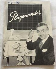Les casse-pieds Noël-Noël Bernard Blier Jean Tissier 1948 Danish Movie Program