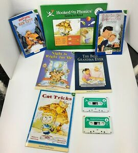 Hooked On Phonics Learn to Read Level 4 INCOMPLETE Books Tapes Workbook Parts