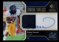 SHANE VEREEN 8/25 $60+ GIANTS ROOKIE AUTO JERSEY PATCH CAL RC 2011 SP AUTHENTIC
