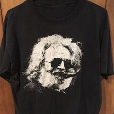 Grateful Dead 1990's Jerry Garcia Tee Tshirt Black T-Shirt Size S to 3XL