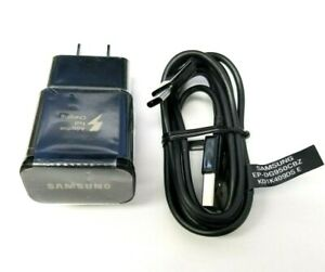 Samsung Galaxy S9 S8 Plus Note 9 Genuine Fast OEM Wall Charger +Type C Cable USB