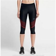 NWT Nike Power Speed Running Capri Sz S 100% Authentic 801694 019 RETAIL $110