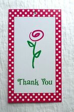100 Hang Tag Price Tags Merchandise Tag Cute Thank You Flower Accessories Tags
