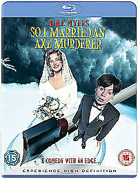 So I Married An Axe Murderer (Blu-ray, 2008) NEW AND SEALED MIKE MYERS
