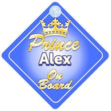 PRINCIPE EREDITARIO Alex A BORDO PERSONALIZZATA BABY BOY AUTO Firmare