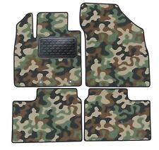 Armee-Tarnungs Autoteppich Autofußmatten Auto-Matten für Suzuki Ignis ab 2016