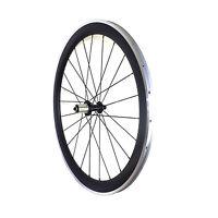UD matte 700C alloy brake track carbon wheel 50mm depth carbon bike rear wheel