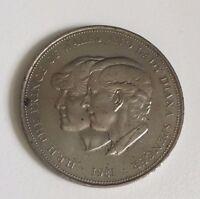 Charles And Diana 1981 Royal Wedding Commemorative Coin