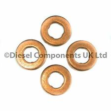 PEUGEOT 306 2.0 HDI 90 DIESEL INJECTORS SEALS / WASHERS (PACK OF 4) COMMON RAIL
