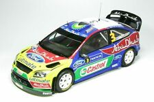 1:18 ford focus rs wrc-hirvonen-Rally de Finlandia 2009-Sunstar 3945