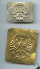 2 old SPAIN CIVIL WAR BUCKLE Royal Spanish Army 1936 - 1939