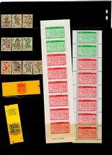 ANDORA FRANCE BOOKLETS PORT #53-62, BK#1,2,3,, CV 65 EURO