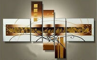 5 pieces Large Modern hand-painted Art Oil Painting Wall Decor canvas (NO frame)