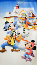 JAPANESE Noren Curtain Disney Holiday Winter Mickey MADE IN JAPAN