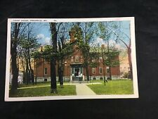 Court House Frederick Maryland Vintage Color Postcard Unposted